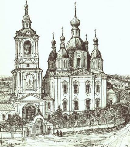 Благовещенская церковь г.Арзамас