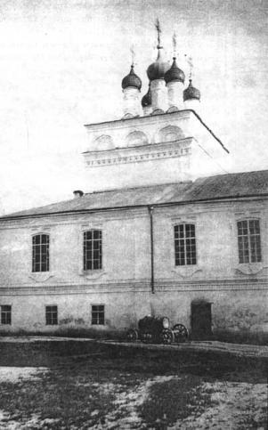 Церковь Рождества Пресвятой Богородицы. Арзамасский Спасо-Преображенский мужской монастырь